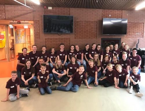 Geslaagde Mega jeugddag St. Hafabra Muziekonderwijs Hardenberg