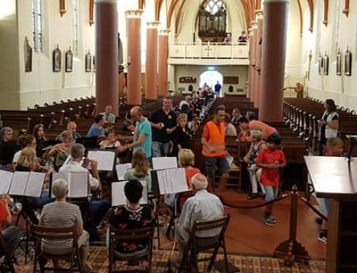 Harmonieorkest speelde in de R.K. St. Vituskerk