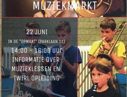 """Jubal muziekmarkt zaterdag 22 juni a.s. in """"OpMaat"""""""