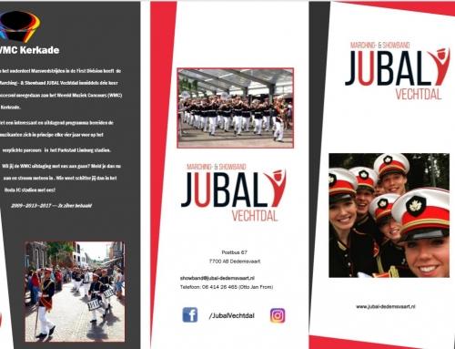 Lid worden van Marching & Showband Jubal Vechtdal?