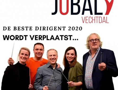 De Beste Dirigent 2020 wordt verplaatst!